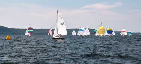 Lake Michigan Sailing